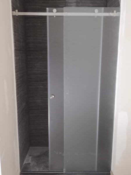 resguardo banheira duche 1 fixo 1 porta correr vidro 2