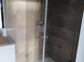 resguardo frontal banheira duche 2 portas abrir vidro temperado