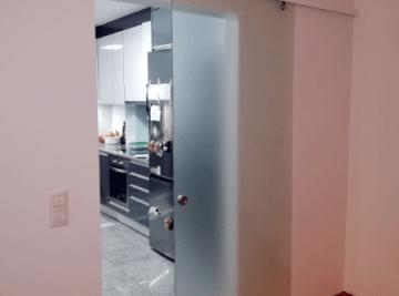 porta correr vidro temperado fosco cozinha 1